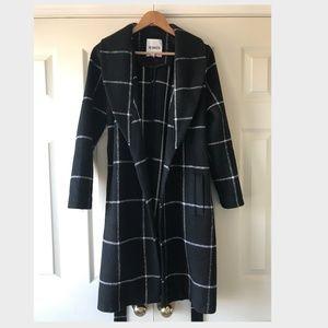 BB Dakota Braylee Plaid Midi Coat